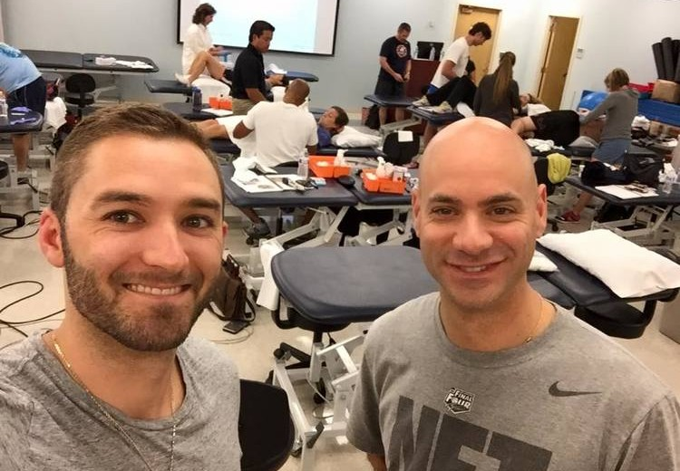 Dry needling certifications, David Mesnick & Justin Thomas