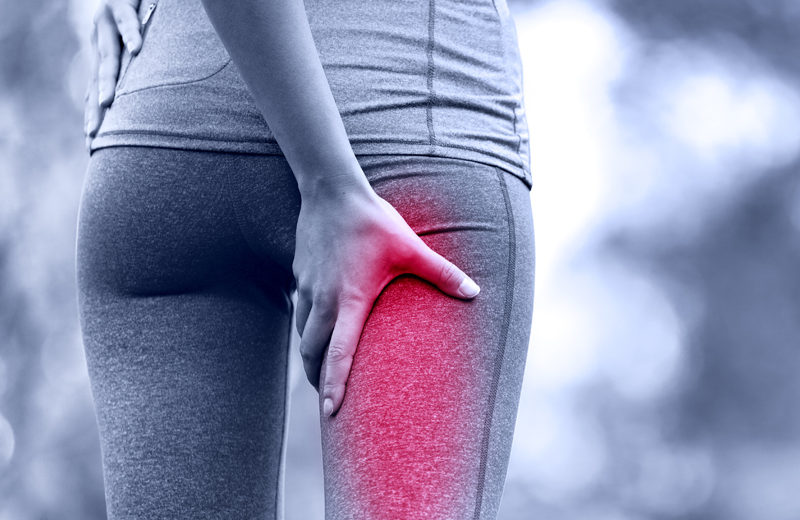 Right hamstring pain caused by scroiliac joint dysfunction